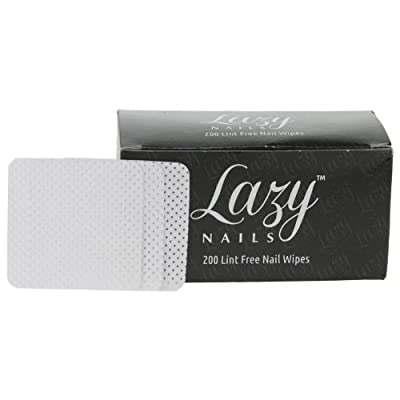 Lazy Nails 200 Lint Free Nail Wipes
