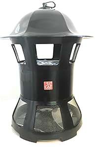 Trappola cattura insetti UV 4W, con aspiratore, per aree da 50 mq.