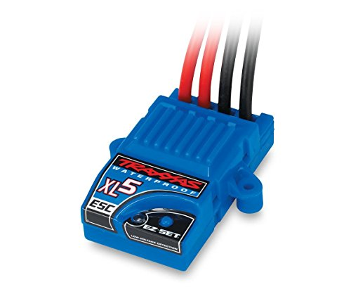Traxxas 3018R XL-5 Electronic Speed Control, Waterproof (land version, low-voltage detection, fwd/rev/brake) Low Voltage Detection