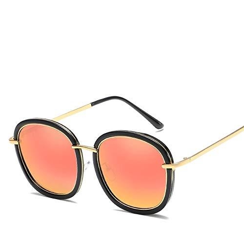JIU-GLASSES Gläser Leichte Sonnenbrille polarisierten Harz Metall im Freien Full-Frame-Allzweck-Mode im Freien (Color : Milk White+White Mercury) Vintage Milk Glass