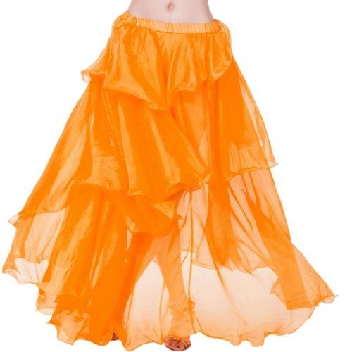 Hee Grand - Robe spécial grossesse -  Femme Orange - Orange2