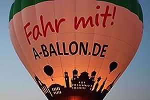Ballonfahrt Gutschein über Augsburg und Gersthofen – tolle Geschenkidee