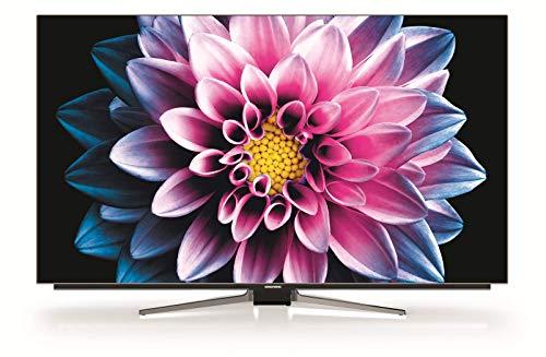 Grundig 55 VLO 9895 BP - Smart TV de 55' con control de voz Alexa y tecnología OLED (UHD 4K, HDR, 3480 x 2160, WiFi, Quad-Core) Color Negro