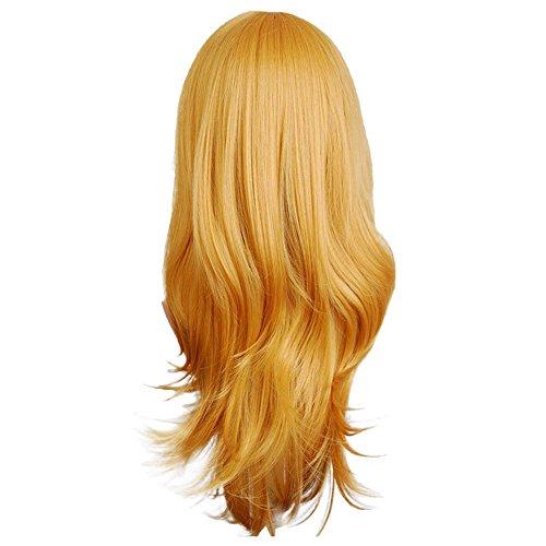 Zolimx Fashion Glamourös Haarteil Perücke Sexy Lange Frauen Mode Synthetische Wellenförmige Cosplay Party Perücken ()