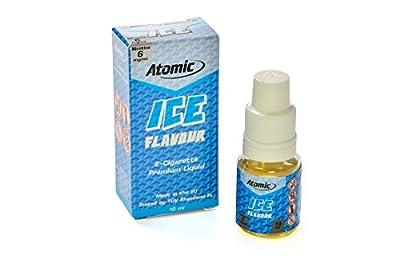10 x Atomic Premium Liquid f. E-ZigarettenInhalt 10ml - Nicotin 6mg/ml Aroma ICE (Eisbonbon) von LeaLuc