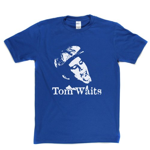 Tom Waits Thomas Alan Voice T-shirt Königsblau