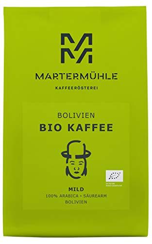 BIO Kaffee Bolivien 500g - Bio Kaffeebohnen Von Der Kaffeerösterei Martermühle: Kaffeebohnen...