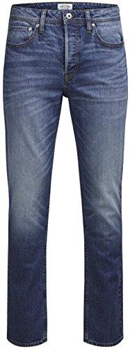 JACK & JONES Herren Slim Jeans Blau