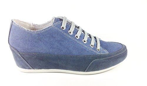 Imac , Chaussures de ville à lacets pour femme Bleu Blu Bleu - Blu
