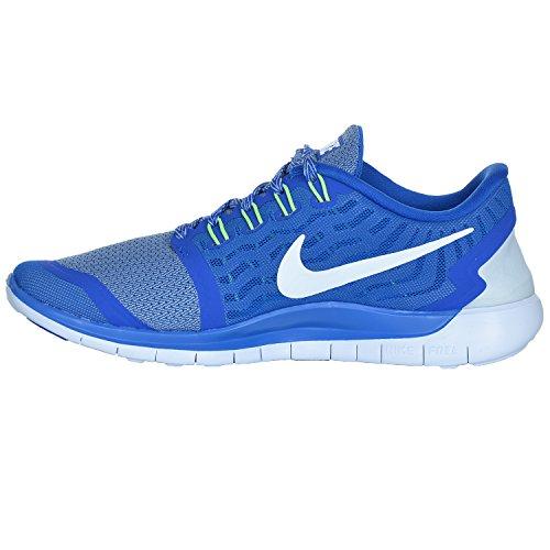 Nike Free 5.0, Herren Laufschuhe Blau (Match Royal/Wolf Grey/White 410)