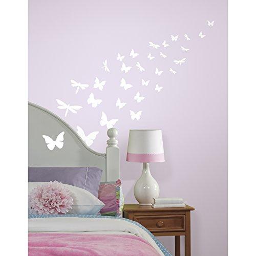 RoomMates 54169 Leuchtende Schmetterlinge