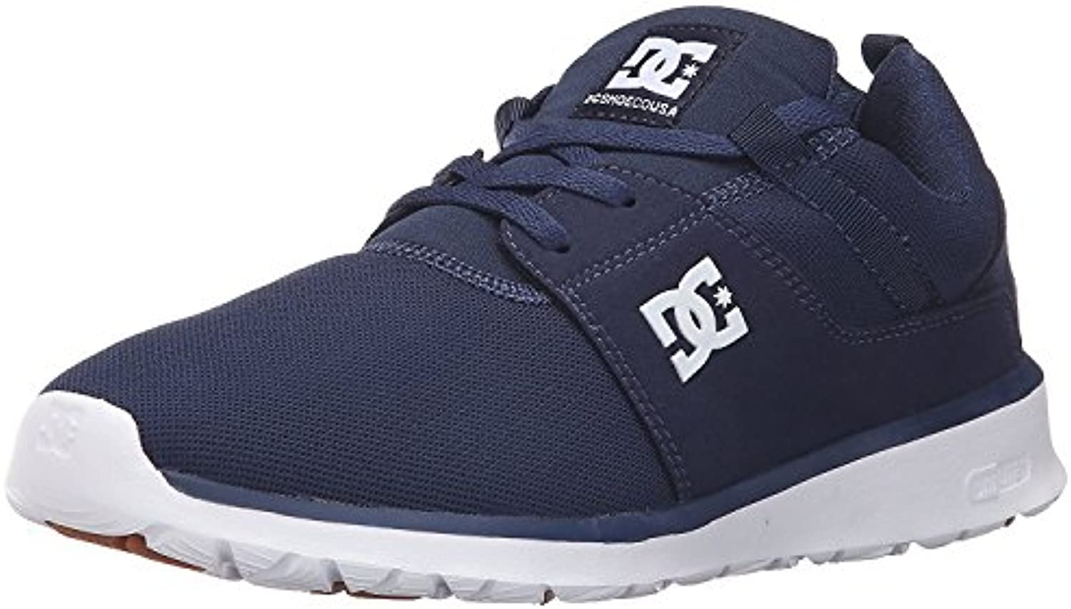 DC Men's Heathrow Casual Skate Shoe, Marino, 42.5 unknown EU/8.5 unknown UK