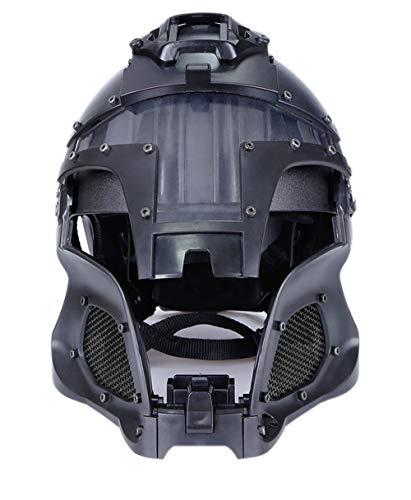 GEE STRANDING Medieval Samurai Cosplay Helmet Suitable for Airsoft  Paintball Protective Helmet Motorcycle Helmet Modern Soldiers