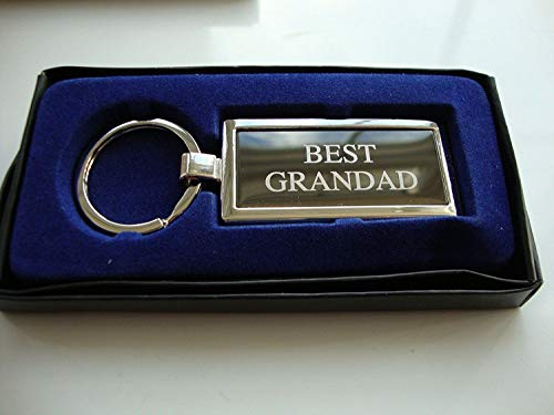Best Grandad Boxed Keyring, Birthday, Christmas, Father's Day, Anytime Gift