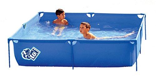 Piscinas Toi 3153-Quadratischer Pool, 120x 120x 35cm, blau
