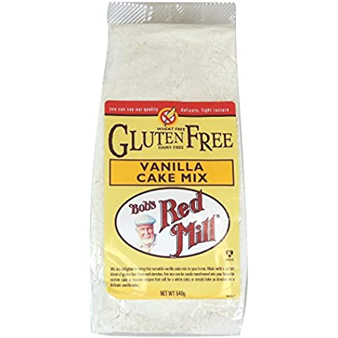 Bobs Red Mill Vanilla Cake Mix 540 g (order 4 for trade outer)