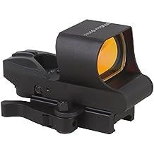 Tac Vector Optics azotan 1x 28x 40rojo Dot Rifle Alcance 4retículo pistola Airgun vista con 21mm Weaver Base color negro