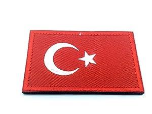 Turquie Drapeau turquie brodée Airsoft Paintball Patch
