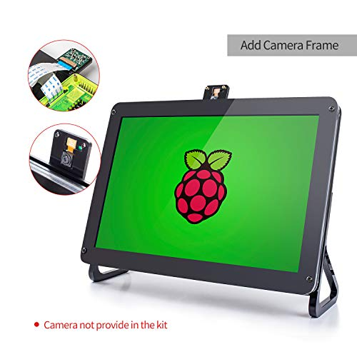 SunFounder 10.1'' Zoll IPS Monitor-Raspberry Pi 10.1 Inch HDMI IPS LCD Monitor Display High Resolution 1280×800 Camera Holder Stand for Rasp... 9