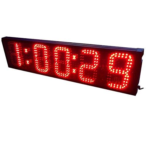 15,2cm 5digit Grande Horloge LED compte à rebours Athlétique Marathon Course à Pied BTBSIGN