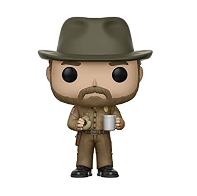Funko - 14425 - Figurine Pop! Vinyle - Stranger Things Hopper With Donut