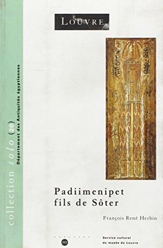Padiimenipet fils de Sôter. Histoire d'une famille dans l'Egypte romaine