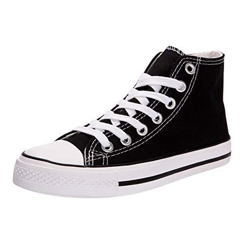 Padgene - Zapatillas de Deporte Mujer Zapatillas Canvas de Lona Unisex de Mujer o Hombre Estilo Casual...