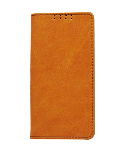 swankmobilecovers Flip Cover for Lenovo A6000 Plus(Platter-Orange).