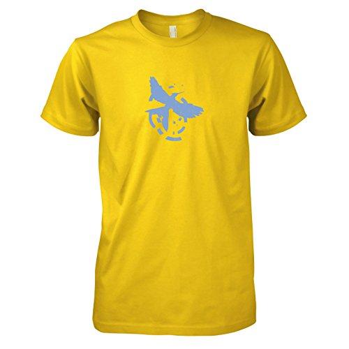 TEXLAB - Flammender Zorn - Herren T-Shirt, Größe XXL, ()
