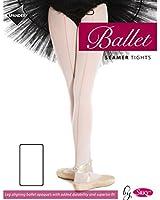 Silky Childrens Girls Seamed Seamer Ballet Dance Tights