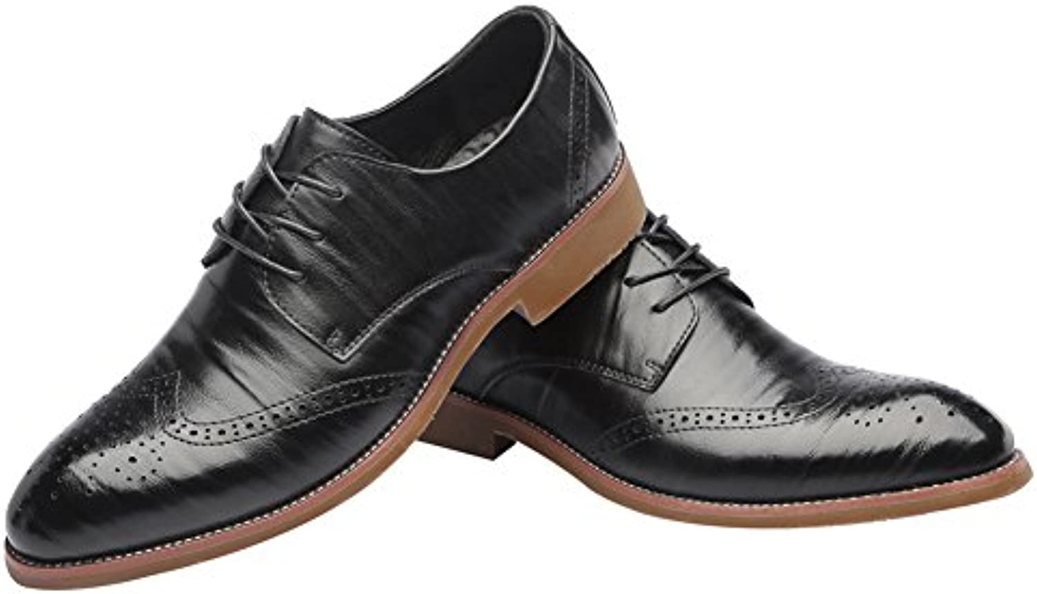 Herrenschuhe Leder Fruumlhjahr Herbst Komfort Lace up Driving Schuh Wies Schuhe Leichtes Breathable Large Size Formale