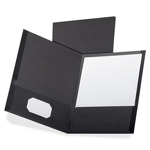 OXF50506 - Oxford Oxford Linen Twin Pocket Portfolio by Oxford