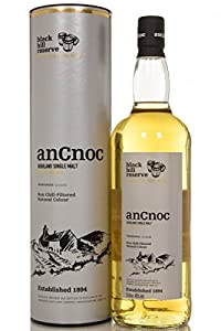 anCnoc Black Hill Reserve Single Malt Scotch Whisky 1 Litre by anCnoc