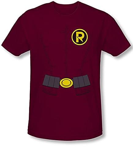 Costume Robin Rouge - Batman - - Nouvelle Robin Costume T-shirt