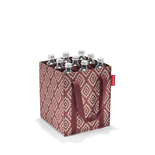 reisenthel bottlebag Flaschentasche 9 Fächer - 24 x 28 x 24 cm diamonds rouge