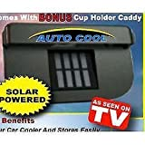 #9: TUZECH Solar Automatic Car Cooler for Summers - Auto Cool (Works in Closed Window Also)