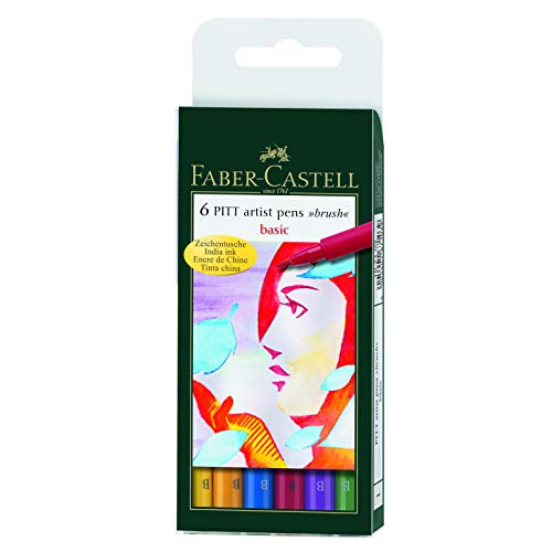 Faber-Castell PITT - Rotuladores artísticos, multicolor