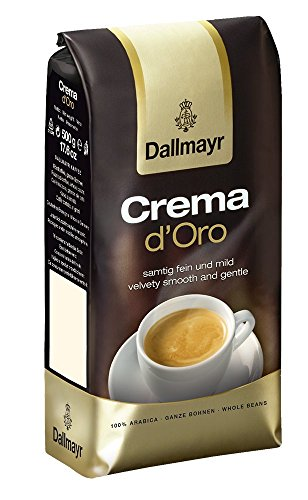 Dallmayr Kaffee Crema d'Oro 500g Kaffeebohnen, 2er Pack (2 x 500 g)