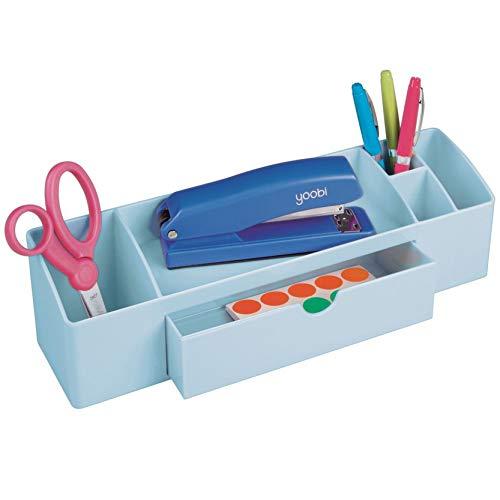 iDesign Med+ Kosmetik Organizer, 7,49 x 30,48 x 8,89 cm, hellblau, kunststoff