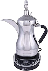 Arabic Electric Coffee Maker - Jls-170E, Silver