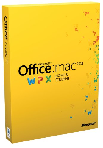 Office für Mac 2011 Home & Student (Family Pack / deutsch)