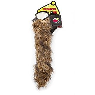 Beardski Big Country Skimaske mit Bart Braun