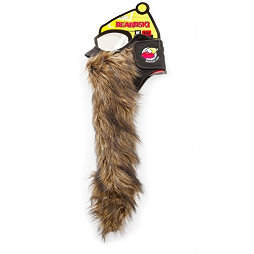 Beardski Big Country Skimaske mit Bart - Bart-maske