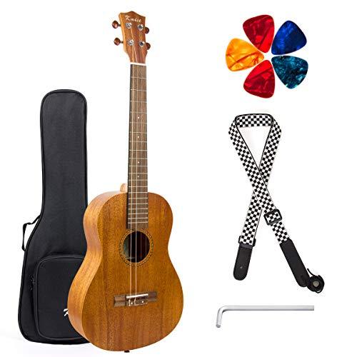 30' Einstellen (Ukelele Anfänger Vintage Hawaiianische Ukulele mit Uke Starter Pack Kit (Baritone 30'', Acoustic))