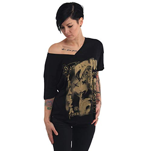 Yakuza Damen Worst Enemy Loose V-Neck Shirt