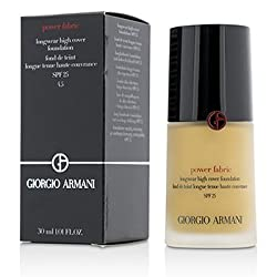 Giorgio ArmaniPower Fabric Longwear High Cover Foundation SPF 25 - 4.5 (Light, Golden)30ml/1oz