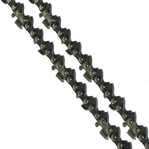 2 x 20″ Saw Chains Fits Many Parker 62cc Chainsaw With .325 Chain