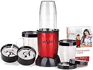 La' Forte La Vite Cherie -Compact Powerful Mixer Grinder Blender, 3 Jars and 2 Detachable Blades (Download