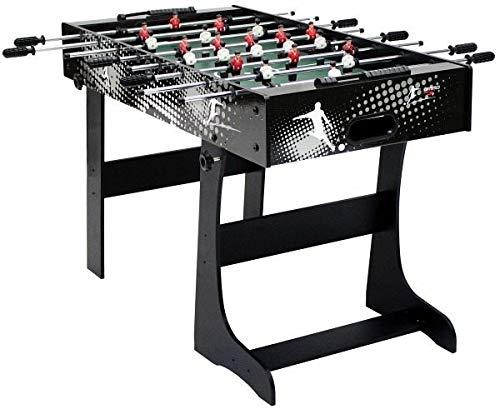 Carromco 05065 Kicker klappbar Rialto XT Spiel, 122 x 51 x 76 cm
