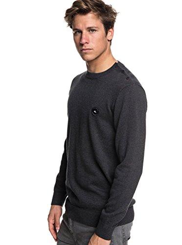 Quiksilver Herren Shadow Marin Sweater Dark Grey Heather S